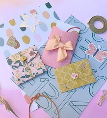 Fun pockets for scrapbook or mini albums