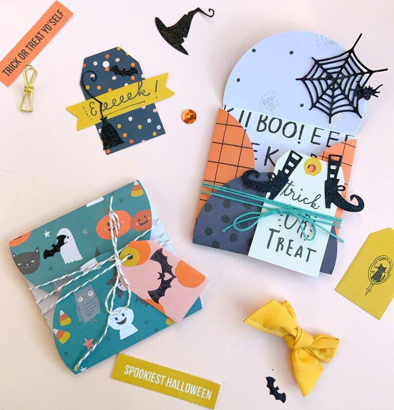 Halloween Envelopes & Treat Pouches