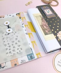 Travel Journal Holder Album & Chocolate Gift Box