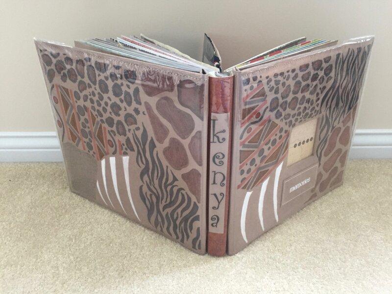 Kenya album - spine