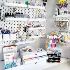 Love my Craft room basics on my table