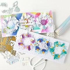 Garden Wreath card set