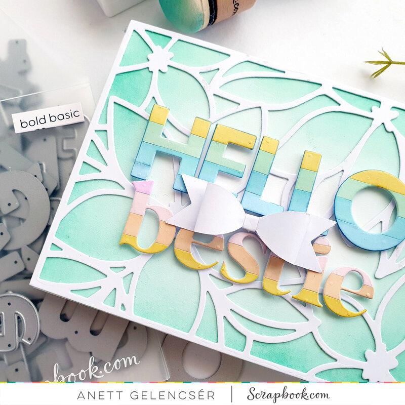 Hello Bestie Card