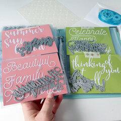 Scrapbook.com 6x8 two ring album