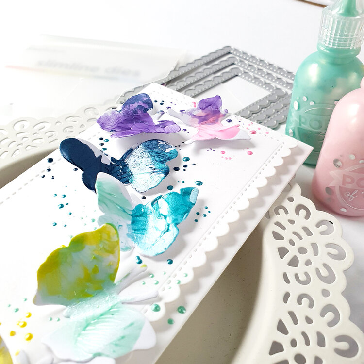 Pops of Color Butterflies Card