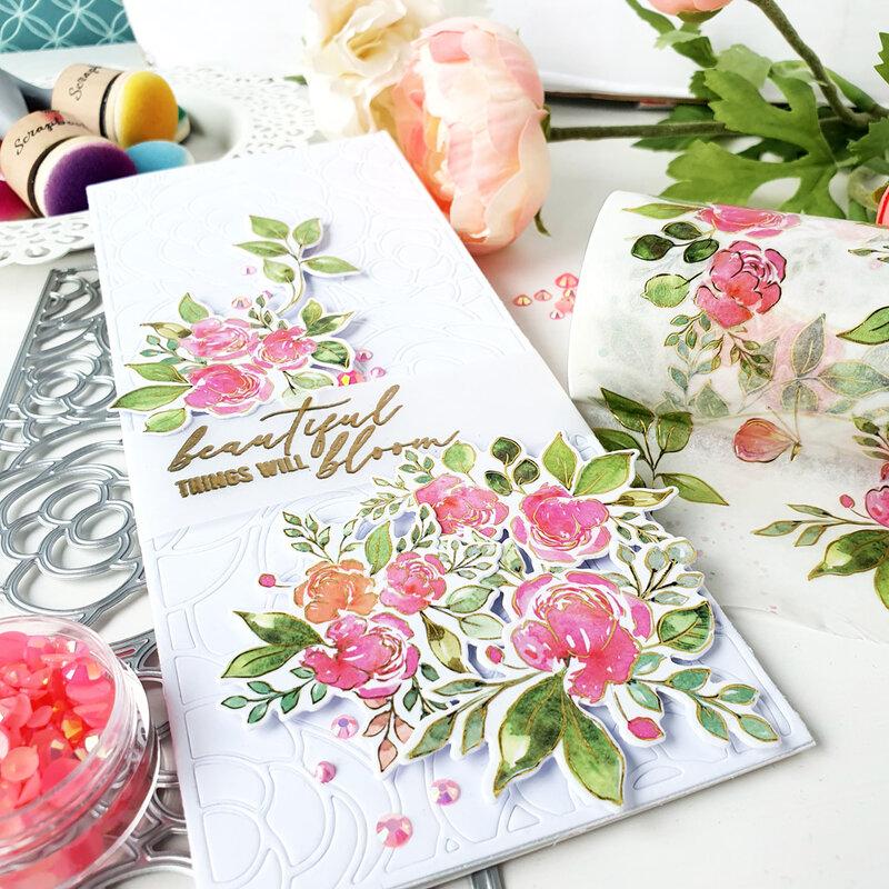 Bloom Slimline Card