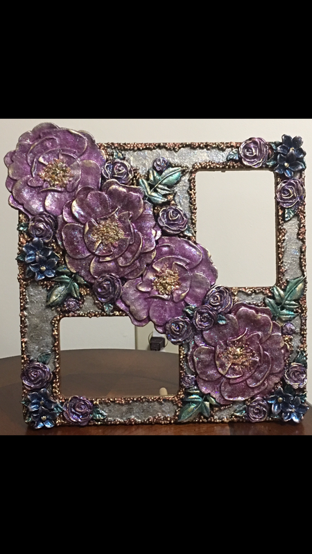 Frame with Prima moulds & Prima waxes