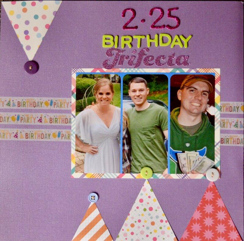 Birthday Trifecta