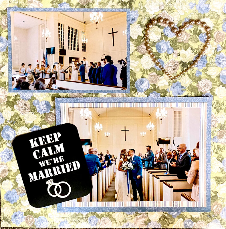 Keep Calm We're Married