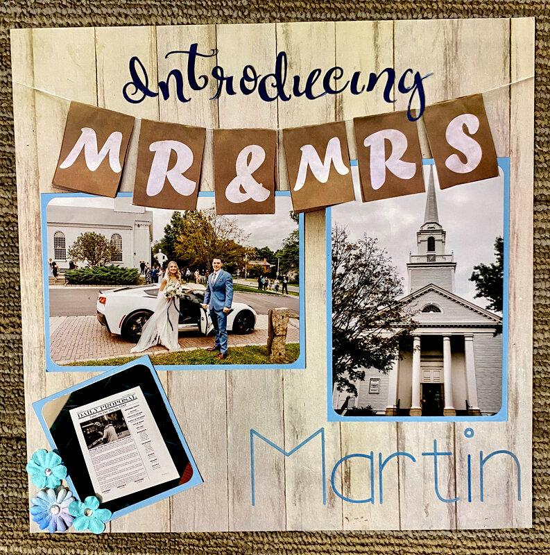 Introducing Mr. & Mrs. Martin