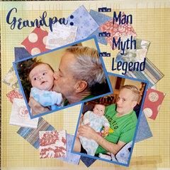 Grandpa: The Man, The Myth, The Legend