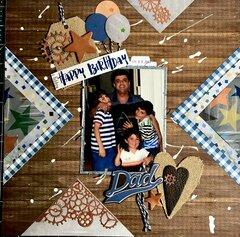 Happy Birthday Dad 2007