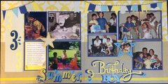 Summer birthday 2 page LO