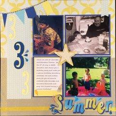 Summer Birthday 1 page