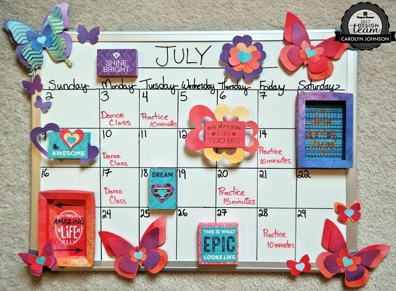 Project Pad Calendar