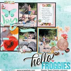 Hello Froggies