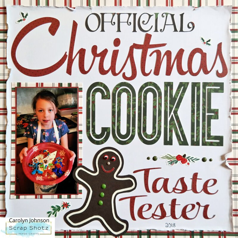 Official Christmas Cookie Taste Tester