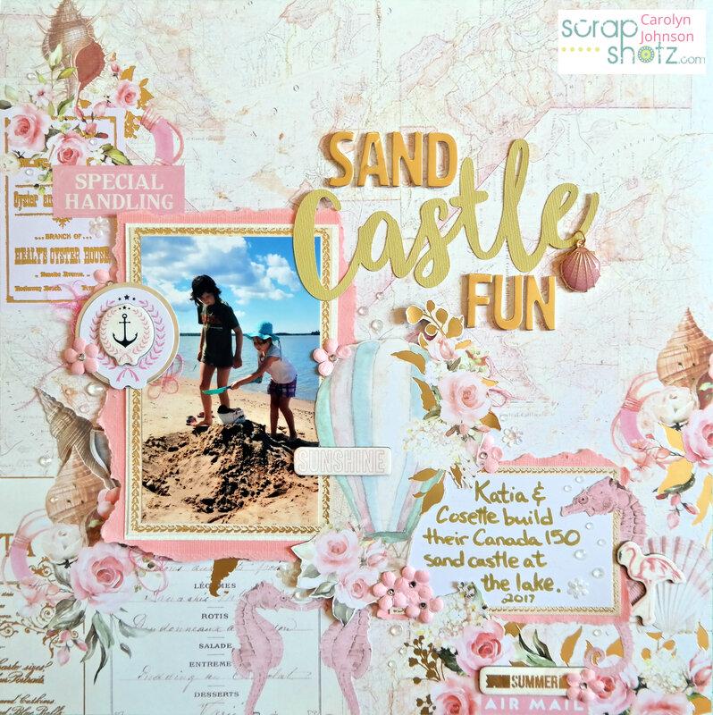 Sand Castle Fun
