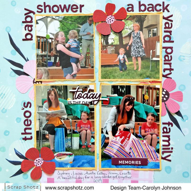 Theo's Baby Shower
