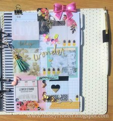 Pretty Planner Pocket Page