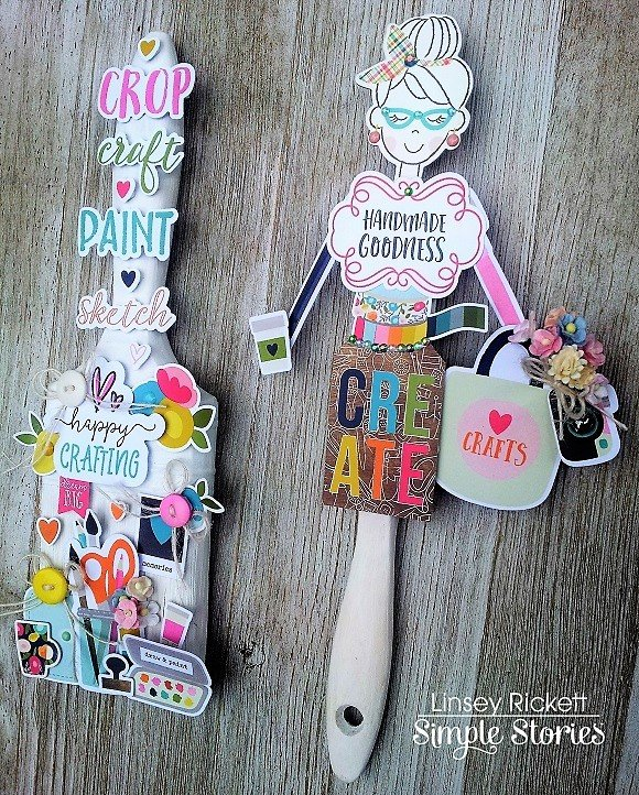 Crafty Girl Altered Paintbrushes