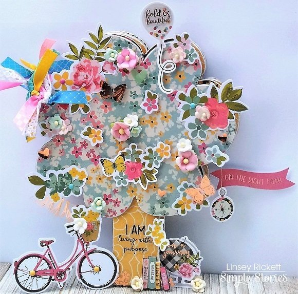 I Am Tree Chipboard Mini Album