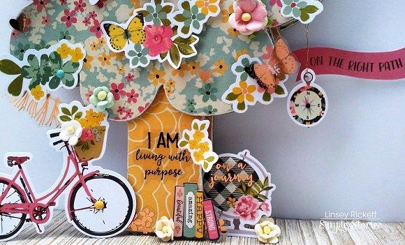 I Am Tree Chipboard Mini Album