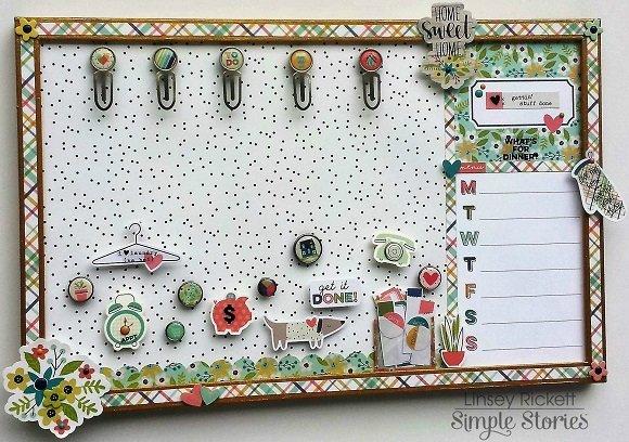 Domestic Bliss Memo Board