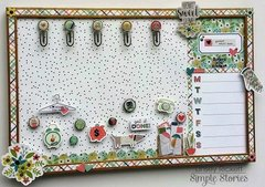 Domestic Bliss Memo Board
