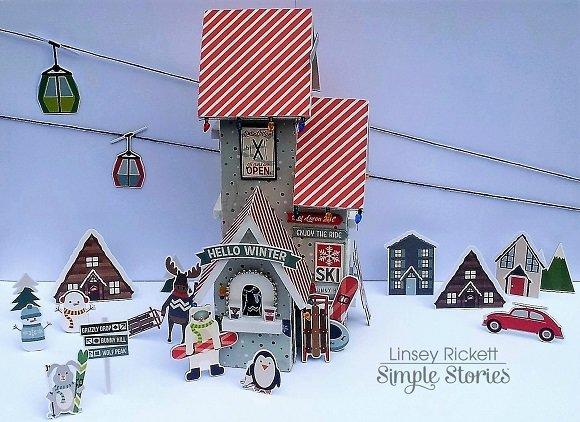 Ski Lodge & Winter Fun Park