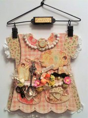 Altered Baby Dress Keepsake