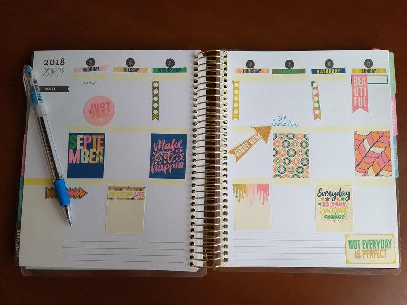 September Planner Layout