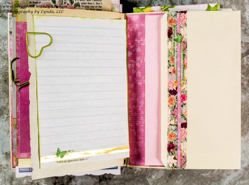 Junk Journal Envelope Decoration