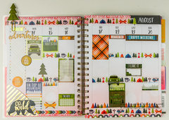 Outdoor Planner Spread