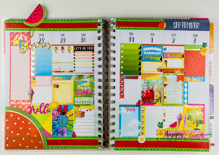 Summer Planner Spread - Before the Pen