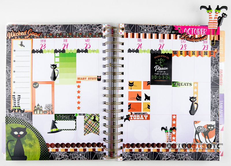 October / Halloween Before the Pen Planner