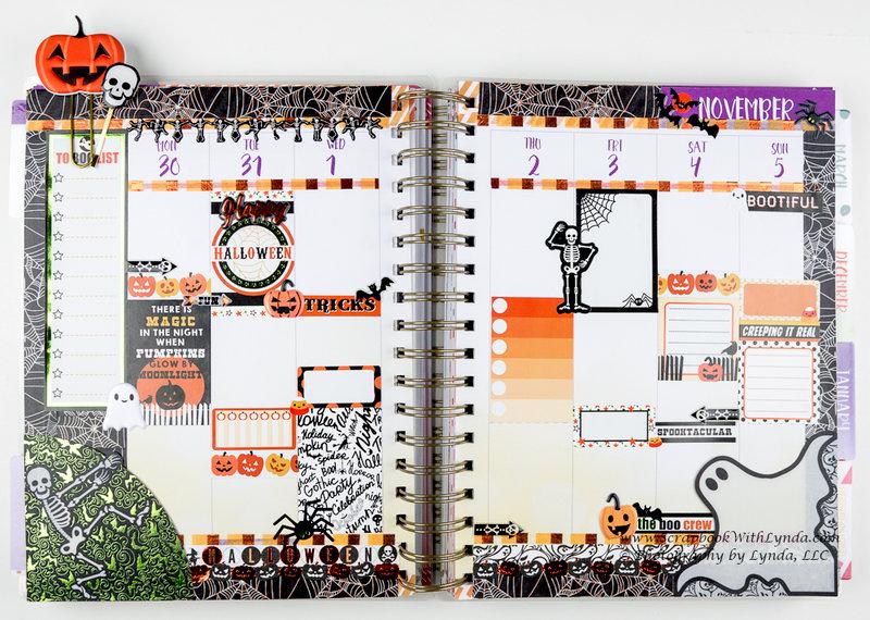 October / Halloween Before the Pen Planner