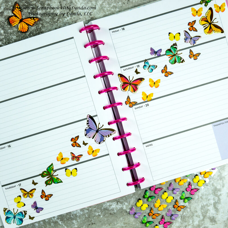 Butterfly Before the Pen Planner Page