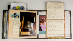 Journaling in Flipbook Interactive Mini Albums
