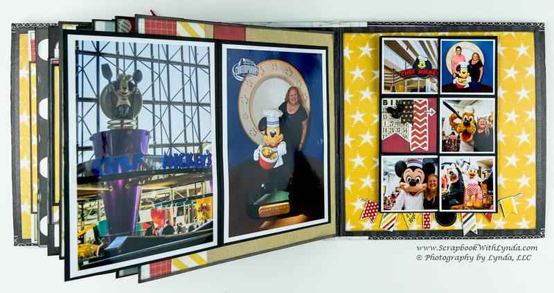 Disney Flipbook Mini Album