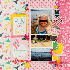 Two Event Double Page Layout