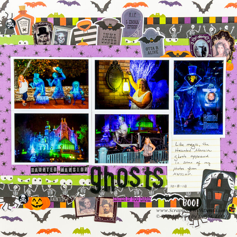 Haunted Mansion Ghosts at Mickey's Not So Scary Halloween Party