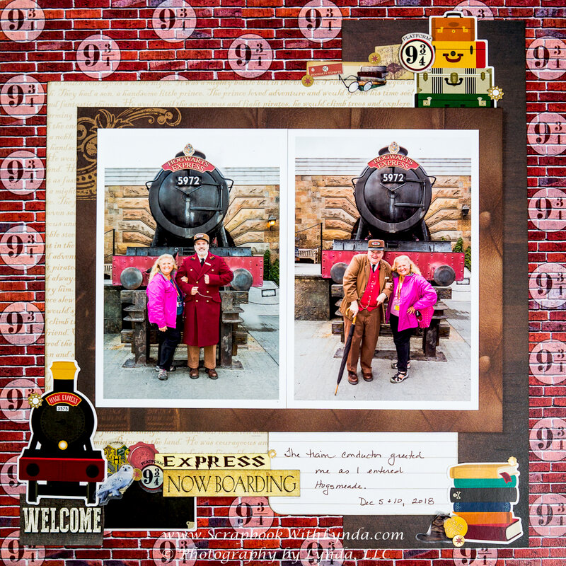 Hogwarts Express Train Conductors at the Wizarding World of Harry Potter, Universal Orlando