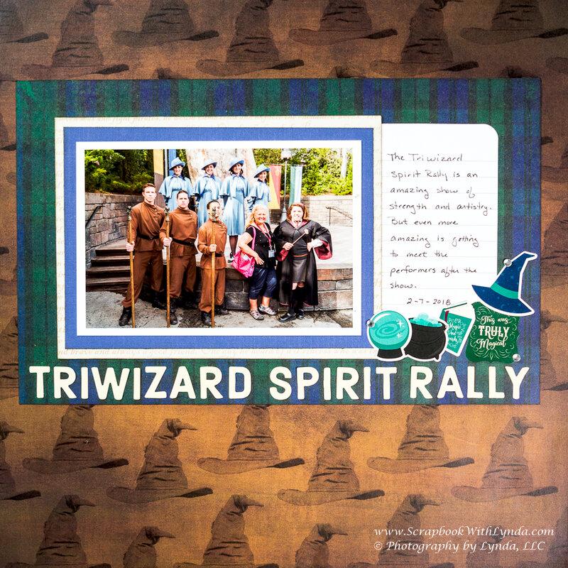 Triwizard Spirit Rally, Hogsmeade, Wizarding World of Harry Potter at Universal Orlando