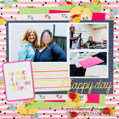 No Embellishemnts - No Problem Scrapbook Layout