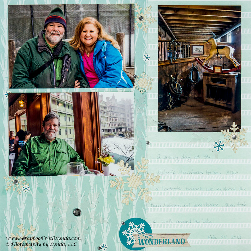 Tips for Scrapbook Layouts with Three 4x6 Photos