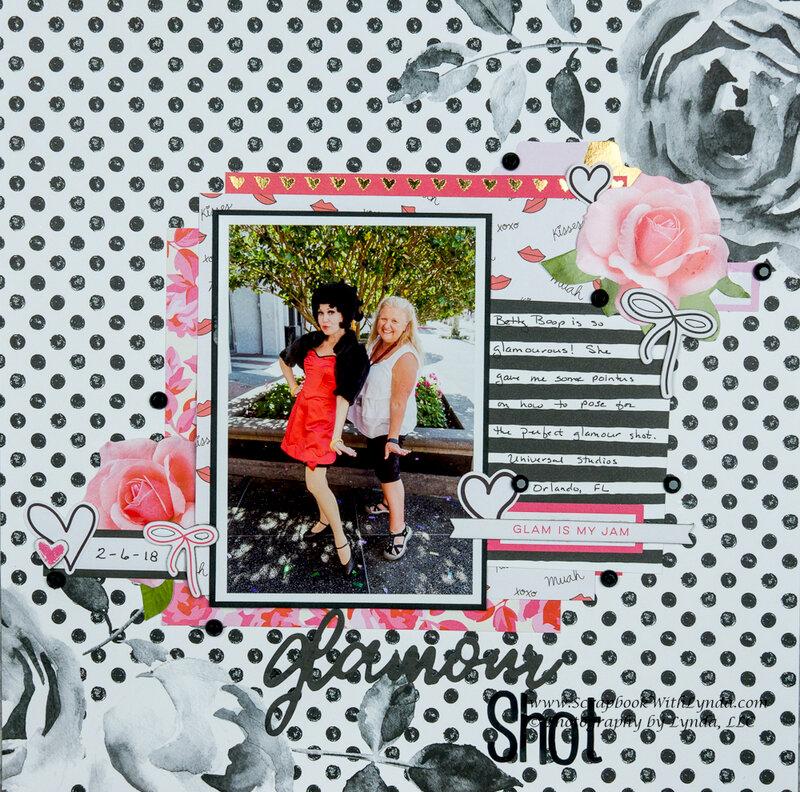 Betty Boop Glamour Shot
