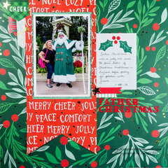 Father Christmas at Epcot, Walt Disney World