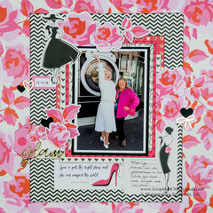 Marilyn Monroe Scrapbook Layout