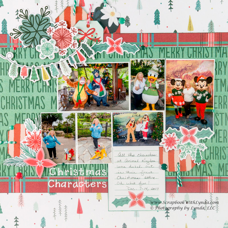 Disney Christmas Layout